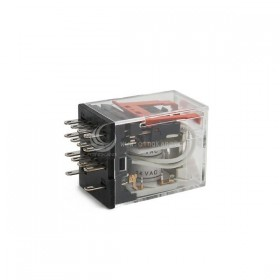 OMRON MY4N-GS  24VAC 3A30VDC 14PIN 繼電器
