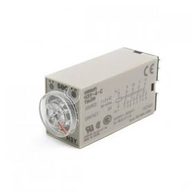 OMRON H3Y-4-C 10秒 AC110V 小型計時器
