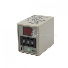 CIKACHI AH3D-DM12VDC數位型多段顯示限時繼電器 12VDC