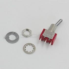 焊腳式 搖頭開關 2段3P (12.7*6.86*8.89)