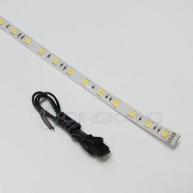 5050-12V防水燈條暖白色 30CM(18燈)