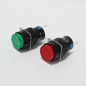 TN16 111V圓形指示燈紅色