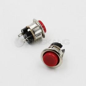崁入式 圓型開關16MM (無段)  紅色