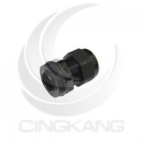 KSS AG-20S 15mm 外迫式電纜固定頭(公制螺紋)黑色