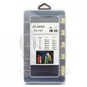 G5 黑色熱縮套管組合 160PCS/盒