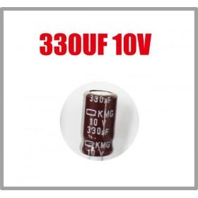 黑金剛電容 330UF 10V KMG 6*11 (10顆入)