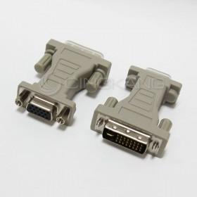 DVI公轉VGA母轉接頭 DVI24+5 (29M15F)