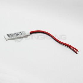 LED RGB控制器 微型控制器按鈕控制器帶線/4PIN