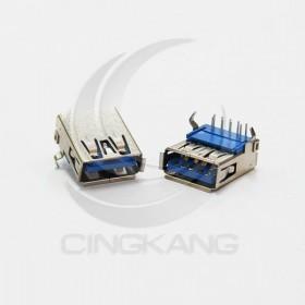 USB3.0 A型母座 90度腳位 (5入)