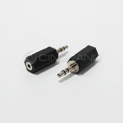 3.5立體插頭對2.5立體插座 (1入)