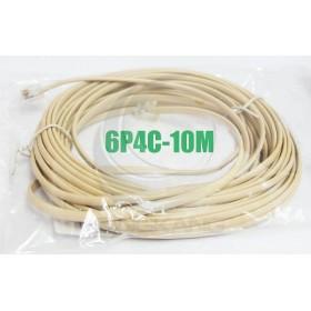 6P4C 雙頭 10M 電話線(6P4C-10M)