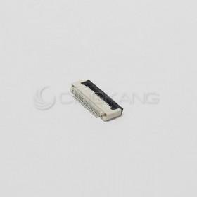 FFC扁平電纜連接器20P 0.5MM 翻蓋式-下接