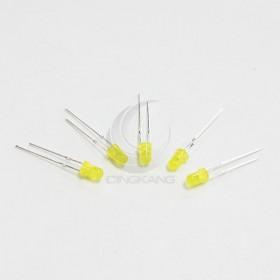 LED燈珠3mm-黃色發黃光 (10PCS/入) 1.8~2.5V