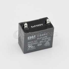 起動電容方形4插 6UF 450V