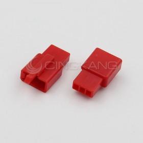 110型連接器-3P 2.80mm  母頭 紅色(20入)