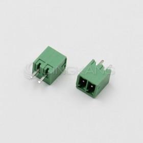 PCB 3.5-2P 端子台(公) 8A 300VAC 180度 (2入)
