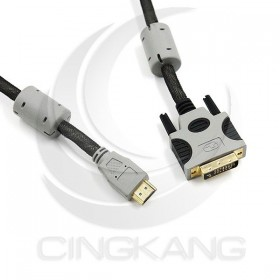 Pro-Best HDMI公-DVI-D 24+1公 鍍金(CBL-HDMI-DVI-3)