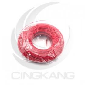 單股單芯線 0.5mm(24AWG) 45Y(約40米) 紅色 耐溫80