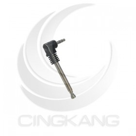3.5立體耳機頭底座伸縮天線 4節全長105直徑4.4第一節36mm