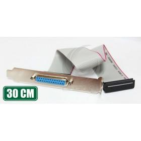 LTP主機板線 25母/IDC26 30CM (25F/IDC26)