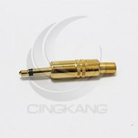 3.5立體插頭-單聲道 鍍金