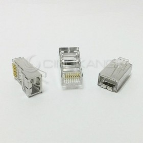 台製 CAT5e 鐵殼 單件式 50u (10PCS/包)