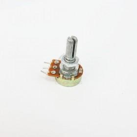 單聯電位器 B10K 柄長15MM(三腳)