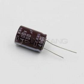 黑金剛電容 100UF 400V KMG 18*25 (2顆入)