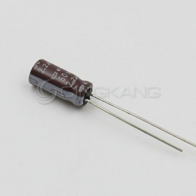 黑金剛電容 2.2UF 50V KY 5*11 (10顆入)