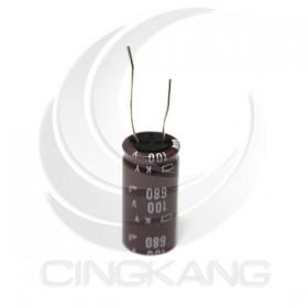 黑金剛電容 680UF 100V KY 18*35.5 (1顆入)