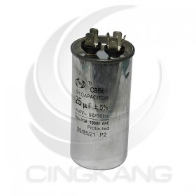 起動電容 25UF 450VAC 50/60HZ ±5%