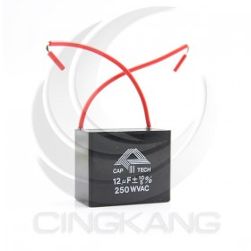 起動電容帶線方形 10UF 250V