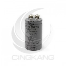 起動電容 200MFD 125VAC 鎖螺絲