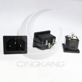 電源(品字)插座 ST-A01 10(15)A/250V(5入) (ROSH)