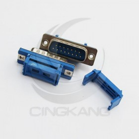 D型接頭 壓排式 IDC-15P 公 15P (5個/入)