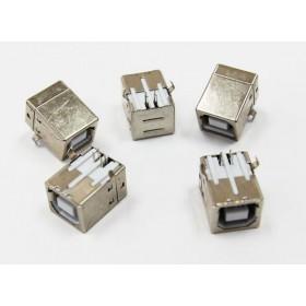 USB B型母座 90度腳位 (5入)