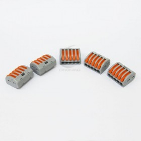 WAGO 222-415 快速接頭 5P32A 0.08-4mm (5入)