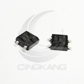 S1NB60 4腳 0.5A/600V 貼片 橋式整流器(2入)