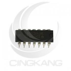 SN74HCT00N 四路2 輸入正及閘 邏輯IC DIP-14