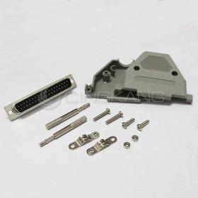 D型接頭保護蓋37P+ DB37公 (附長螺絲)