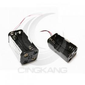 電池盒(帶線)雙面 4顆3號