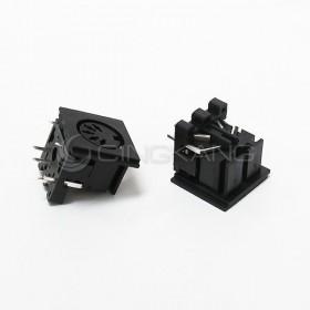 DIN固定座(方型)-5P