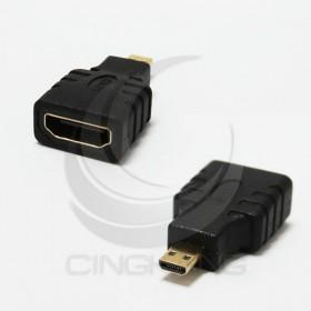 HDMI母-Micro HDMI 公 轉接頭