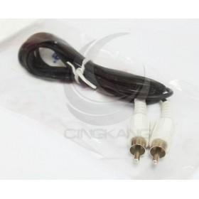 2P(公對公) AV端子RCA訊號線 黃頭1.2米 (VD-21)