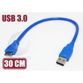 USB3.0 A公/Micro B公 30CM(UB-332)
