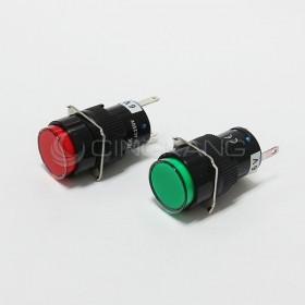 TN16 6V圓形指示燈紅色