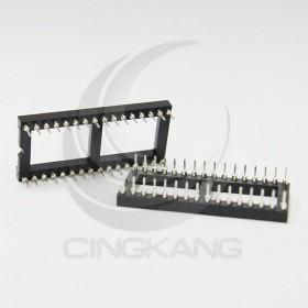 32PIN 寬形圓孔 IC座(5入)