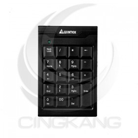WINTEK 數字鍵盤TK-70 USB 黑用