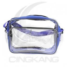 無塵室專用手提袋-立體型(藍) 大 40*31*10CM