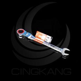 櫻花牌 13mm 高扭力活動型搖頭梅開棘輪板手(HSU-13H)